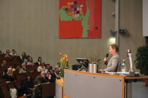 Ulrike Beisiegel at the opening event