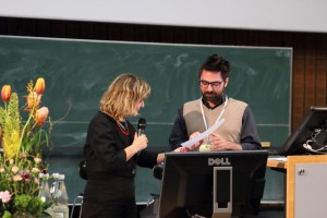 Young Scholar Prize winner Lorenzo D'Orsi