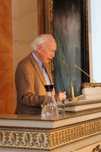 Hermann Bausinger at the closing event